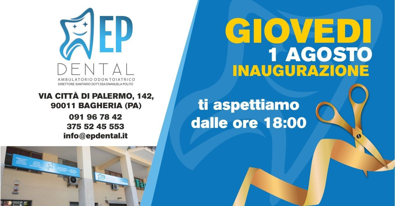 Inaugurazione ambulatorio odontoiatrico E.P. Dental Bagheria
